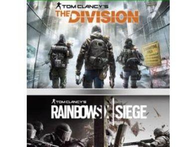 compilation rainbow six siege + the division xboxone