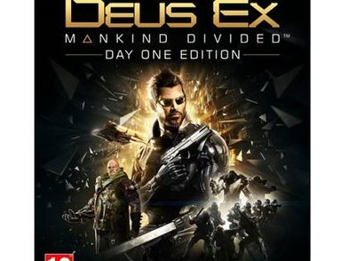 deus ex: mankind divided day one xboxone