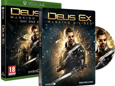 deus ex: mankind divided limited ed xboxone