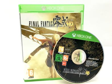 final fantasy type-0 hd xboxone