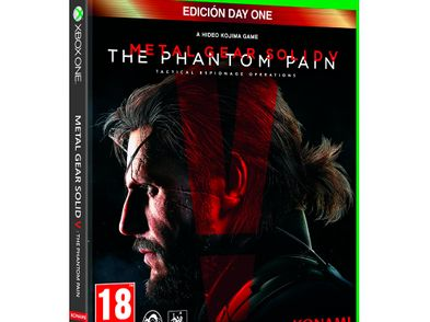 metal gear solid v: the phantom pain - day one edition xbox