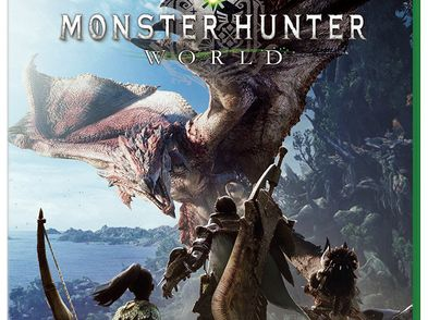 monster hunter world  xboxone
