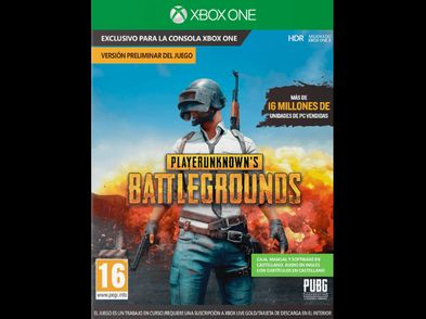 playerunknowns battlegrounds xboxone