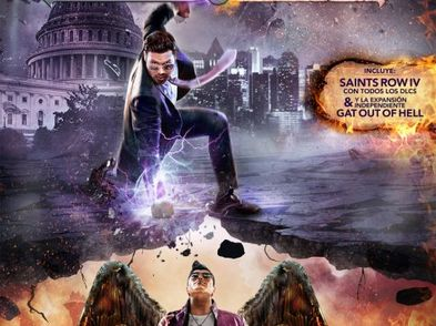 saints row iv re-elected + gat out of hell xboxone