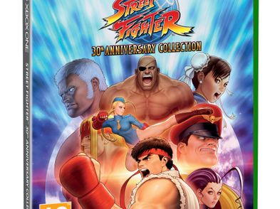 street fighter 30th anniversary collection xboxone