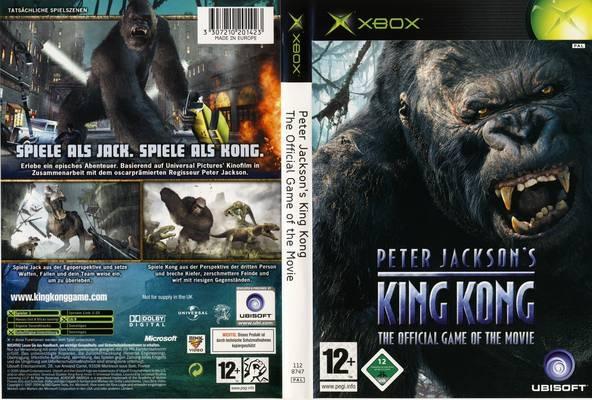 PETER JACKSONS KING KONG XBOX