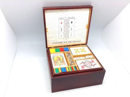 juegos de mesa otros set juego ruleta / poker