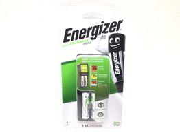 kit cargador y pilas energizer acu recharge mini 2000mah