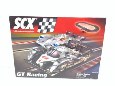 kit pista e carros slot outro gt racing set c1 1:32