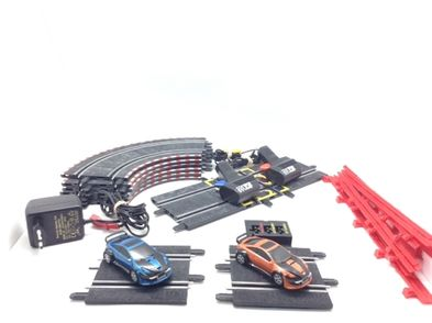 kit pista y coches slot scalextric 3102 compact tuning