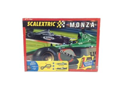 kit pista y coches slot scalextric monza