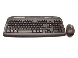 kit teclado y raton logitech ex110
