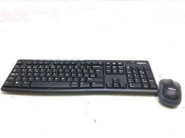 kit teclado y raton logitech k270