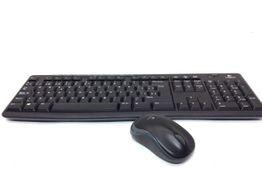 kit teclado y raton logitech mk270
