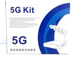kit videovigilancia wireless p2p nvr 5g kit