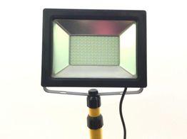 lampara portatil taller matel proyector led 70w 25334