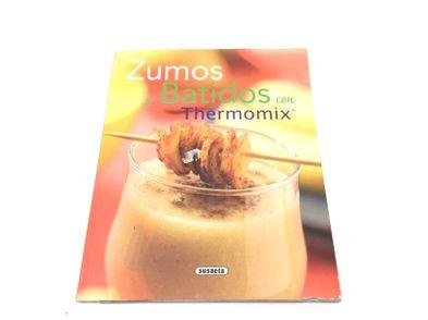 libro cocina thermomix zumos y batidos con thermomix