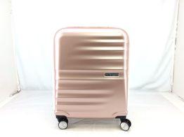 maleta viaje american tourister spinner (4 ruedas - 55cm cabina ) rosa con pelo