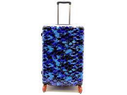 maleta viaje otros camuflaje azul