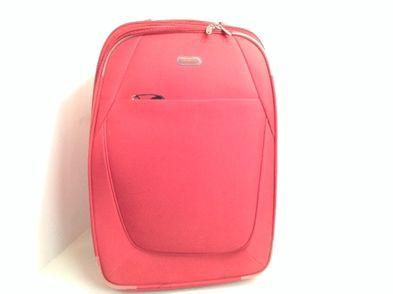 maleta viaje otros roja mediana