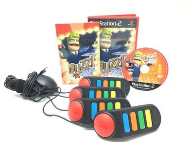 mando buzz sony mando buzz ps2 + juego el gran reto