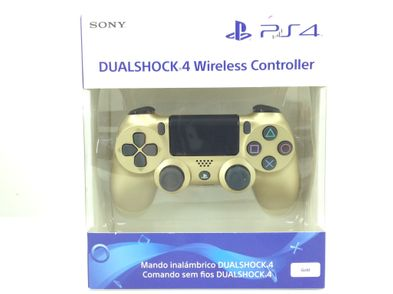 mando ps4 sony gold dualshock