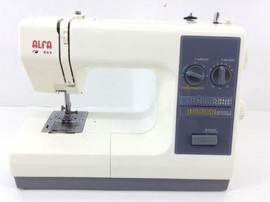 maquina coser alfa 654