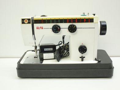 maquina coser alfa alfa