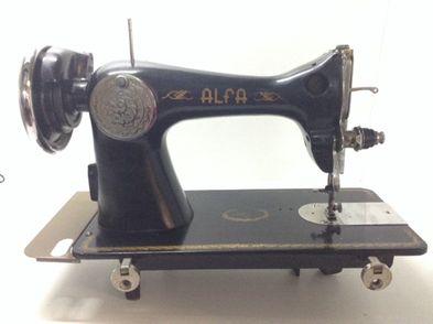 maquina coser alfa nt