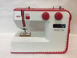 maquina coser alfa practik 9
