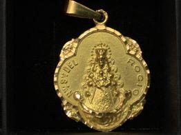 medalla oro primera ley (oro 18k)