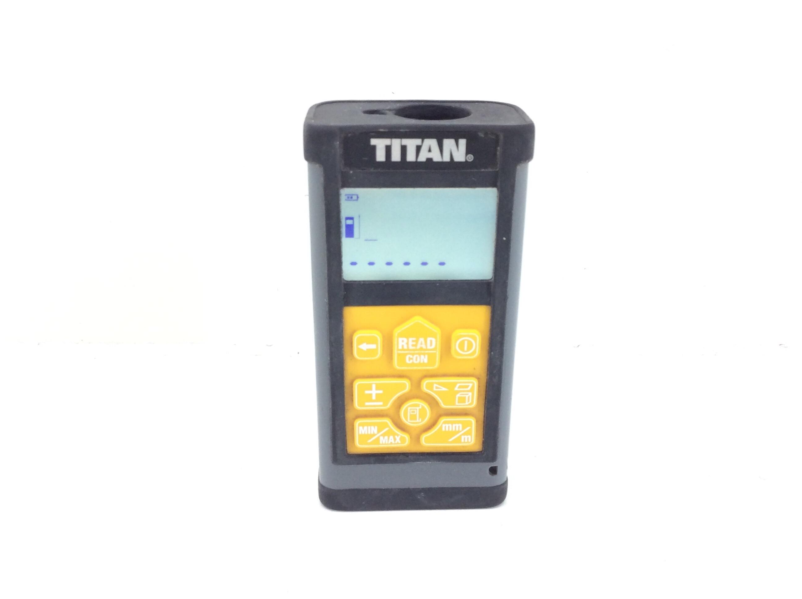 MEDIDOR LASER TITAN 9810