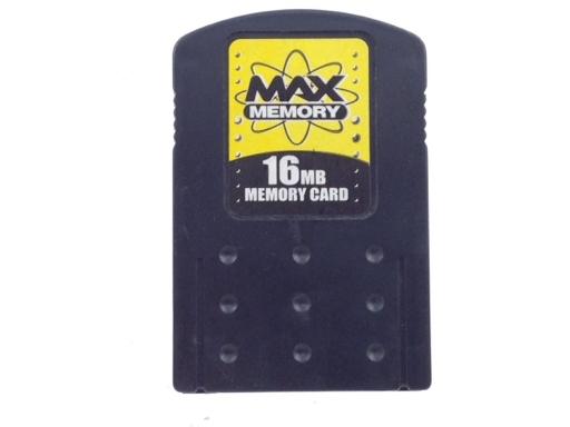 MEMORY CARD PS2 MAX MEMORY 16MB MEMORY CARD