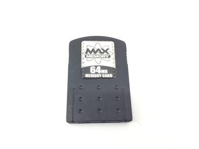 memory card ps2 max memory 64mb