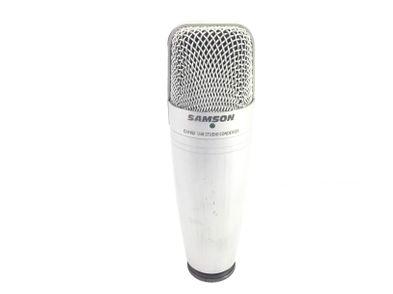 microfono samson c01u usb studio condenser