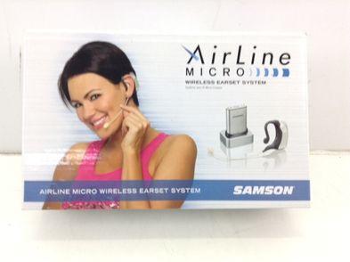 microfono samson e1 airline micro earset system