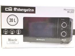 microondas orbegozo m12117 negro 20l