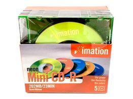 mini disc virgen otros mini cd-r 202mb 23 min