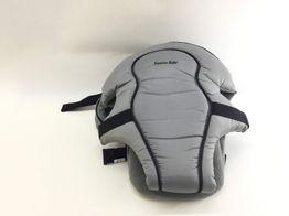 mochila portabebe otros bandolera cruzada gris