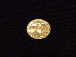 moneda oro primera ley (oro 18k)