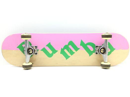 monopatin pumba by boyka franja rosa con giros venture ruedas uni coginetes arrow seven