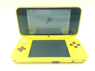 nintendo new 2ds xl pokemon pikachu edititon