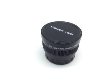 objetivo videocamara otros 1.5x telephoto