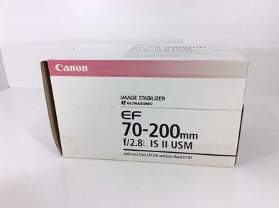 objetivo canon canon ef 70-200mm f2.8 l is ii usm
