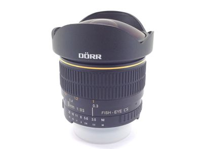 objetivo dorr fish eye 8mm 1:3.5 cs