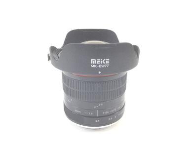 objetivo meike 8mm 1:3.5 fish eye