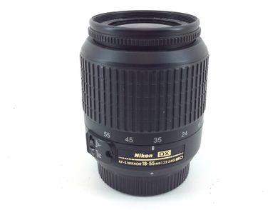 objetivo nikon nikon 18-55mm f/3.5-5.6g vr af-s dx zoom-nikkor
