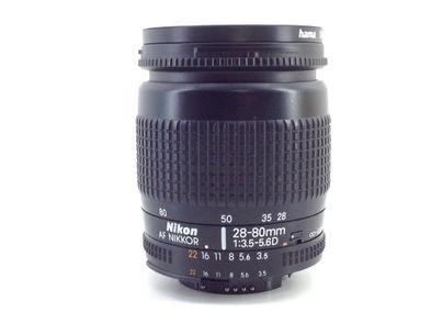 objetivo nikon nikon 28-80mm f/3.5-5.6d af zoom-nikkor