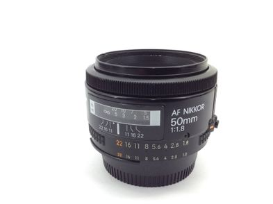 objetivo nikon nikon 50mm f/1.8d af nikkor