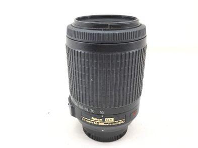 objetivo nikon nikon 55-200mm f/4-5.6g if-ed af-s vr dx zoom-nikkor